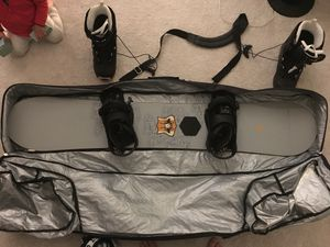 "Burton Indie 61 snowboard 5'1 1/2"" with boots for Sale in Spring Valley, CA"