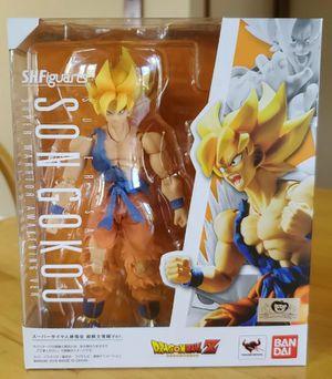 Sh figuarts dragon ball z warrior awakening Goku figure for Sale in Santa Ana, CA