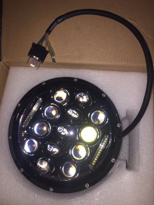 "7"" round headlight for motorcycle fit Harley Davidson for Sale in Los Angeles, CA"
