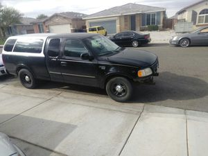 Camper shell for a 2001 Ford F150 for Sale in Victorville, CA