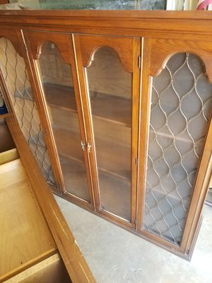 2 piece China cabinet for Sale in Fresno, CA