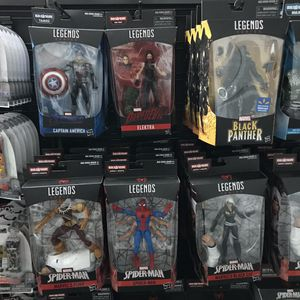 Each $20 marvel legends action figure spiderman black panther kingpin captain America X-men for Sale in San Fernando, CA
