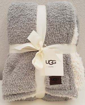 UGG Ana Reversible Cozy Knit Throw Blanket - Color Seal for Sale in Mesa, AZ