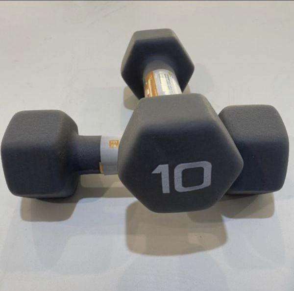 Brand new CAP 10lbs dumbbells set (20lbs total