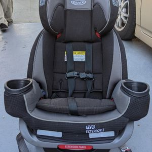 Graco 4 Ever All In One Extend 2 Fit Convertible Car Seat Excellent Condition for Sale in Pasadena, CA