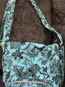 Teal Cotton Messenger Bag Purse for Sale in Canby,  OR