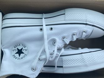 White and Black Platform Converse for Sale in Kennesaw,  GA