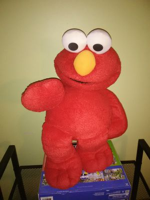 Elmo Plush Doll and Chair for Sale in Lithonia, GA