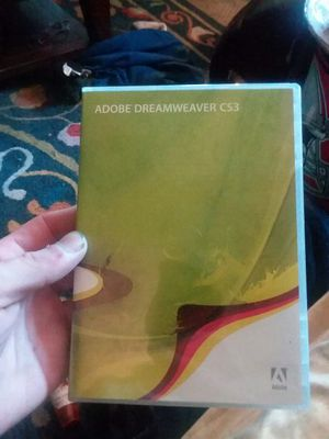 Adobe Dreamweaver CS3 for Sale in Columbus, OH