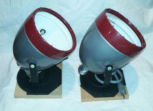 2 Vintage Kodak Dark Room Safe Light Fixtures for Sale in Wheaton, IL