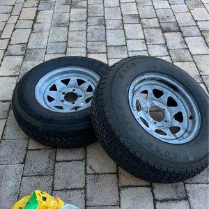 5 Lug Trailer Tires for Sale in Orlando, FL