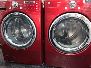 Red LG Washer Dryer for Sale in Kent, WA