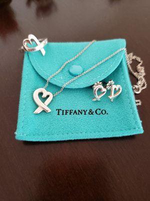 Tiffany's Paloma Picasso Loving Heart Set for Sale in Scottsdale, AZ