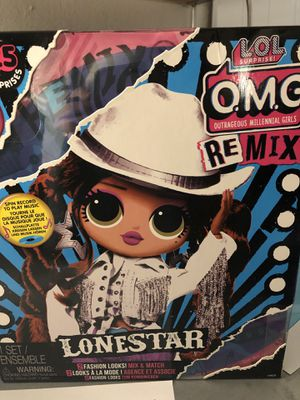 Lol omg lone star remix doll for Sale in Lancaster, SC