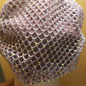 New In Package Washable Comfortable Purple Rhinestone Face Mask for Sale in San Antonio, TX