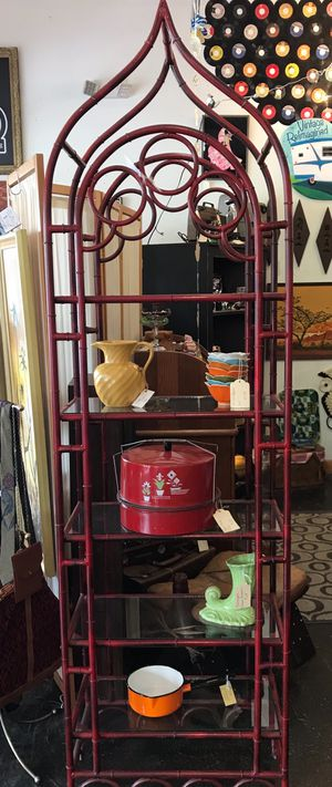 Boho Style Metal and Glass Shelving for Sale in Orlando, FL
