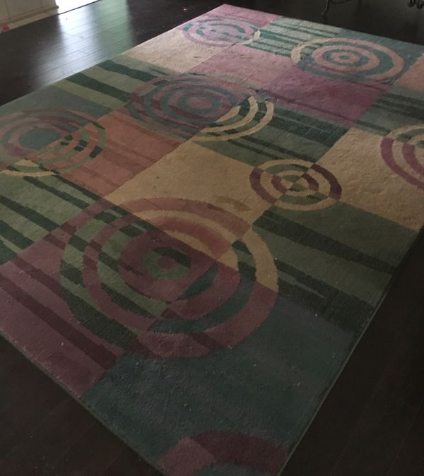 Area Rug, 11ft Long by 8ft Wide