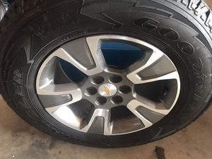 Chevy Colorado 2019 Brand New Wheels & Tires. Size 255/65R17 for Sale in Denver, CO