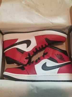 New Jordan 1 Retro Mid Chicago Black Toe sizes 10.5 and 11.5 for Sale in Philadelphia, PA