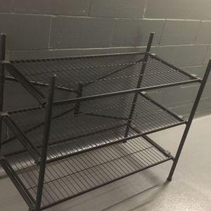 Cosco Folding 3-Wire Shelf Freestanding Storage for Sale in New York, NY