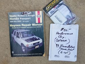 Haynes manual and performance chip for Sale in Tulare, CA