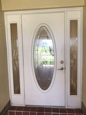 Front door with sidelights and garage side door for Sale in Tamarac, FL