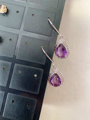 Amethyst earrings for Sale in Santee, CA