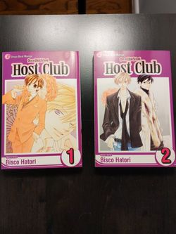 Ouran Highschool Host Club Vol. 1-2 for Sale in Madison Heights,  MI