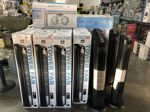 "Silent tower fan 40"" 4 speed with remote for Sale in La Puente, CA"