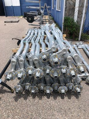 Trailer Brakes - Electric or disc - We stock all trailer brakes, we can install on any trailer - We carry part only or repair - trailer brakes for Sale in Plant City, FL