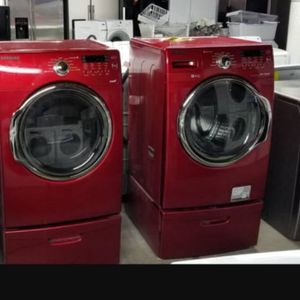 ⭐☀Huge Sale store full of nice reconditioned refrigerator washer dryer stove stackable+financing available free warranty for Sale in Seattle, WA