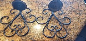 Black metal wall sconces for Sale in Victorville, CA