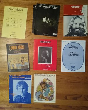 Vocal, Piano, Chords Miscellaneous Sheet Music for Sale in Farmville, VA