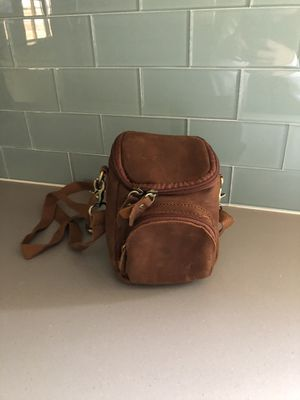 Leather camera bag for Sale in Austin, TX