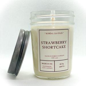 Strawberry Shortcake / strawberry / Fruit candle / Scented Candle 8oz / strawberry candle for Sale in Raleigh, NC