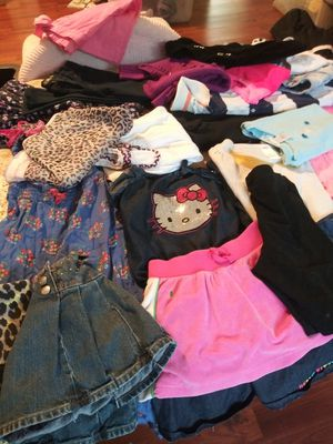 Lot of girl clothing sz 4T 6T over 50 pieces!!! for Sale in Fort Lauderdale, FL