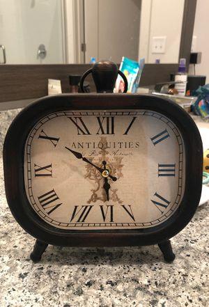 Antique looking table clock for Sale in Atlanta, GA