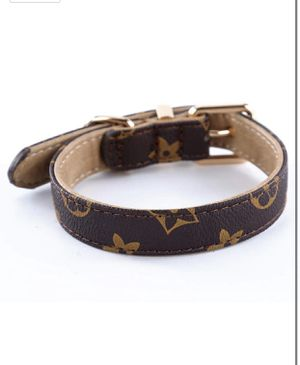 Designer Leather Dog Collar for Small Dogs BRAND NEW for Sale in Irvine, CA
