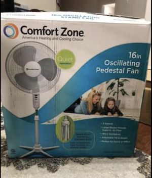 Comfort Zone Stand Fan for Sale in Houston, TX