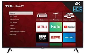 Tcl 55 inch roku tv for Sale in Maiden, NC