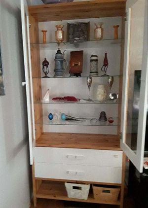 2 IKEA display/storage cabinets 85.00 for Sale in Everett, WA