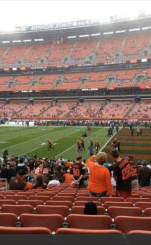 2 Cleveland Browns season tickets for sale in section 138 row 14 seats 13/14! for Sale in Strongsville, OH