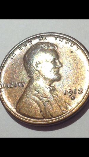 RARE 1912 S Choice About Uncirculated Wheat Penny- Outstanding Luster & Color- Strong Details & Strike Coin- Highly Sought After Key-Date Coin! for Sale in Washington, DC