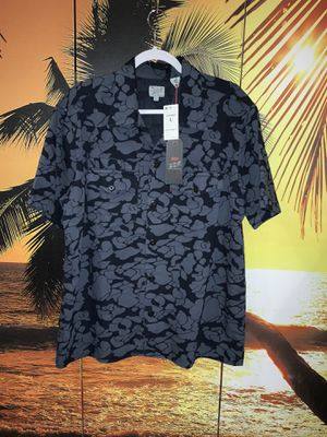 Levis Fresh Leaves Button Up Short Sleeve Dress Shirt Large for Sale in North Royalton, OH