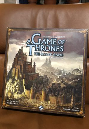 A Game of Thrones The Board Game Second Edition for Sale in New York, NY