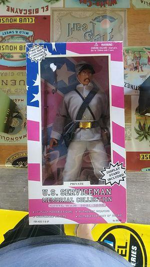 Civil war action figure. Nice shape nib. Confederate for Sale in Dade City, FL