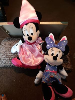 Two Minnie mouse for Sale in New Canton, VA