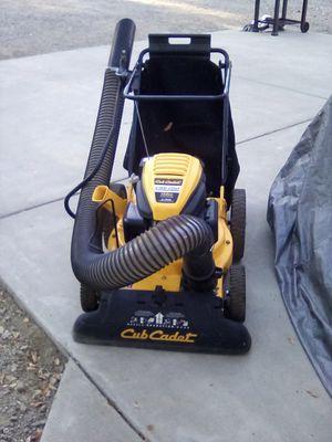 Cub Cadet CSV 050 159cc 1.5in Shedder Chipper Mulcher Vacuum for Sale in Corning, CA