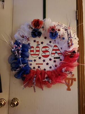 4th of July wreath for Sale in Midland, TX