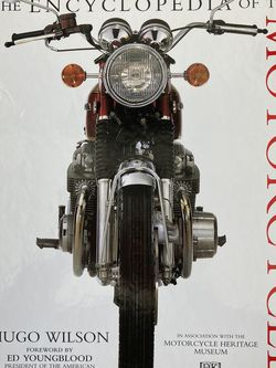 1995 ENCYCLOPEDIA OF THE MOTORCYCLE FIRST EDITION HARLEY DAVIDSON INDIAN for Sale in Placentia,  CA